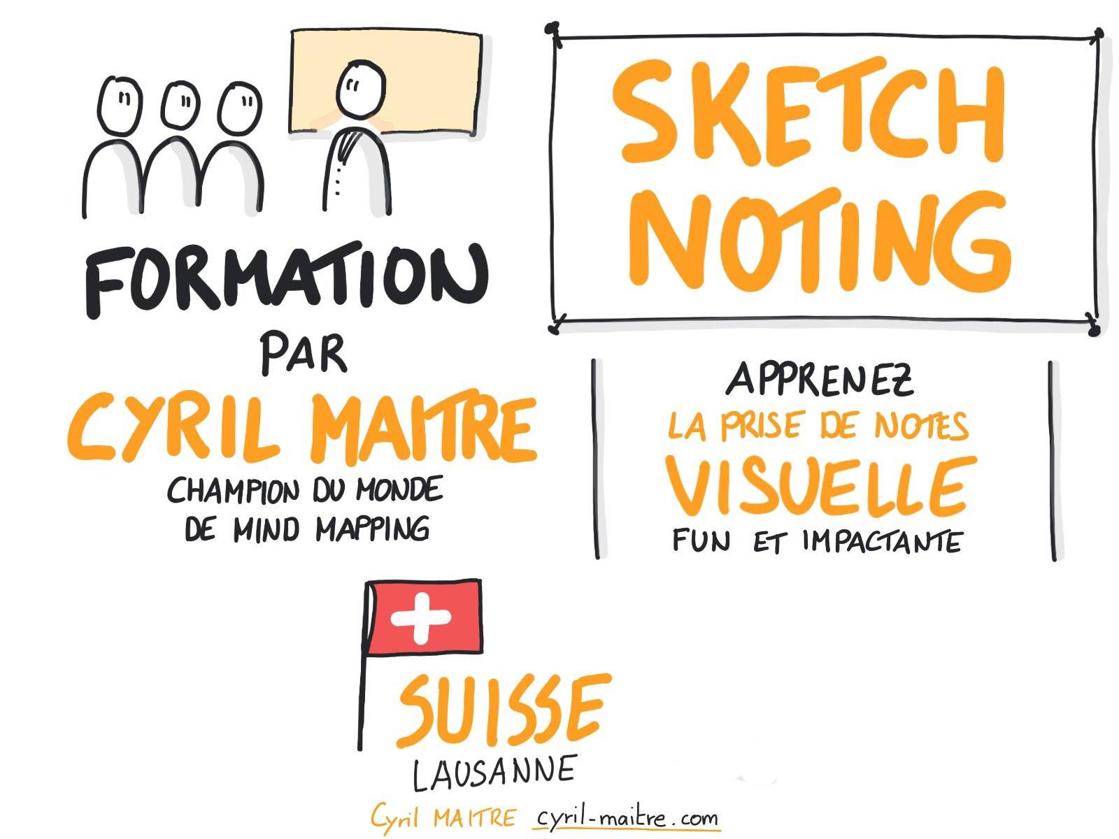 formation sketchnoting suisse